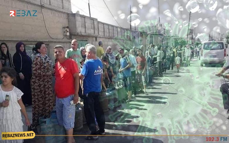 كوردستان سوريا.. وفاة واحدة و15إصابة جديدة بكورونا