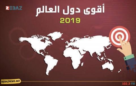 إنفوغرافيك.. أقوى دول العالم 2019