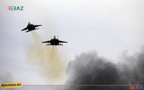 قصف جوي على مواقع عسكرية للنظام وإيران في دمشق