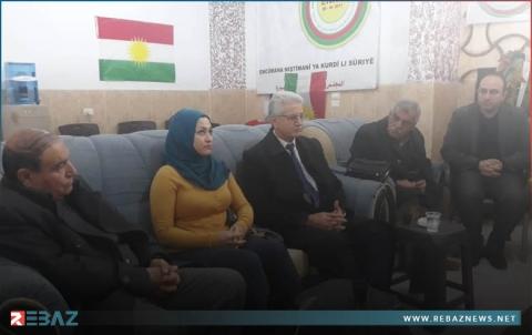 محمد اسماعيل يجتمع مع محلية كركي لكي للمجلس الوطني الكوردي