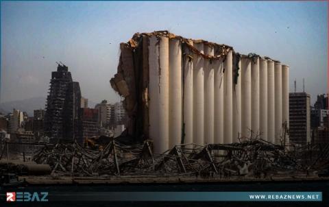 خبراء: صوامع الحبوب في مرفأ بيروت آيلة للسقوط