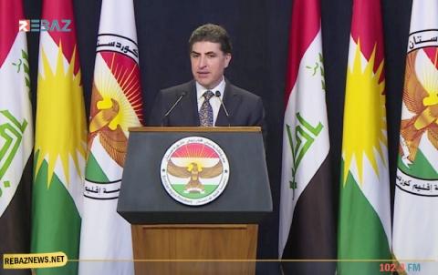 رئيس إقليم كوردستان : نقف مع لبنان وشعبها في هذه الفترة العصيبة