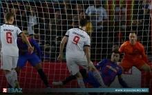 ليفاندوفسكي يهز شباك برشلونة بثنائية ويوسع الفارق مع رونالدو وميسي