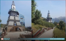 جزائري يثير الجدل بعد تصميم منزله على شكل برج