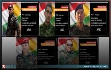 سبعة أعوام على استشهاد خمسة من مقاتلي بيشمركة روج