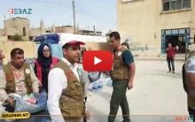 بقرار من الرئيس بارزاني .. قافلة مساعدات للبارزاني الخيرية  تصل كوردستان سوريا